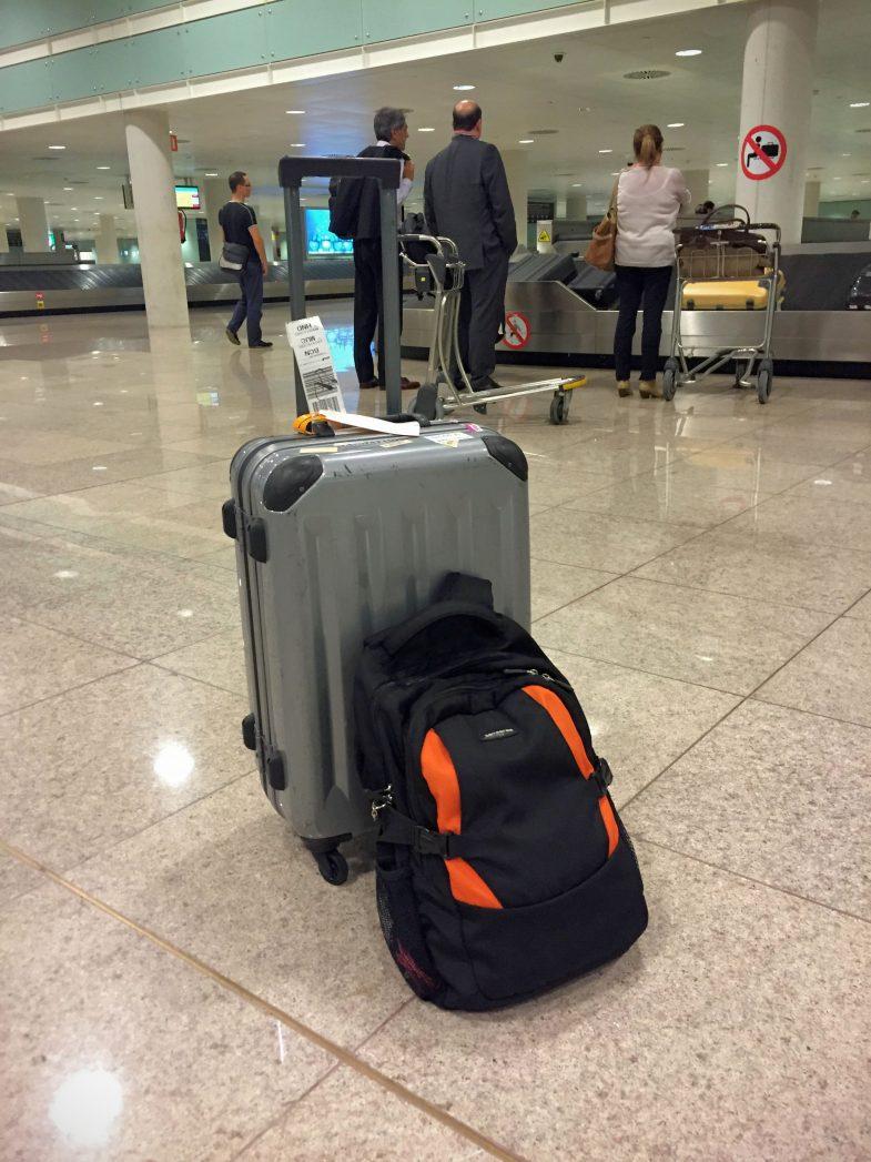 熊本で預けた荷物がバルセロナで出てくる不思議