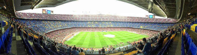 サッカーの聖地、カンプノウにFCバルセロナ vs レバンテを観戦に