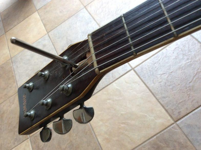 フォークギター復旧