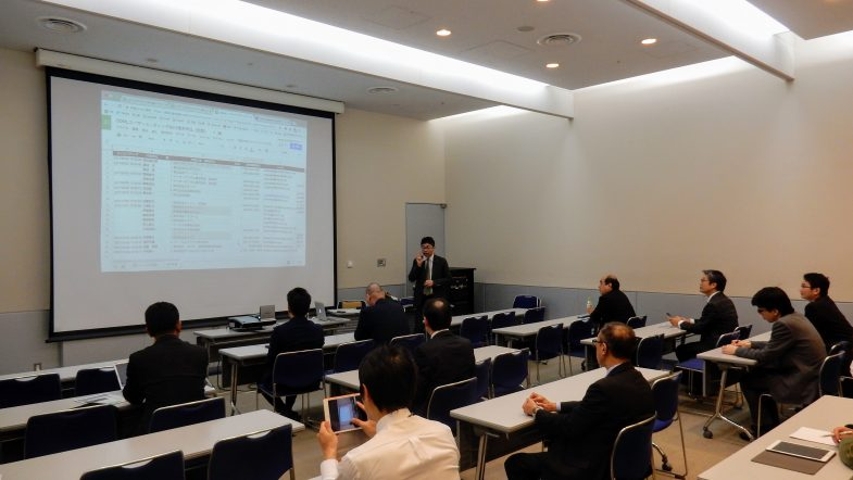 ODMLユーザーミーティング2017東京海上風景