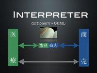 歯科ディーラーの仕事は突き詰めて言えば産業界のメーカー卸と医療人とを適切に繋ぐ「通訳」のような存在だと考えます。その意味においてODMLは優れた通訳のためのオンライン辞書という位置づけを自負しています。